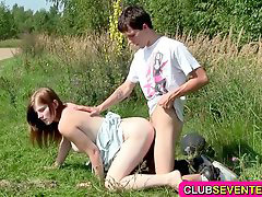 Teenager, Teenages, Teenager fuck, Teenage fuck, Teena, Outdoor fuck