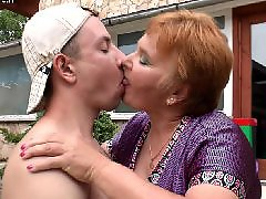 Amateur, Mature, Granny, Milf, Young, Young boy