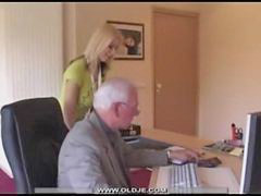 Old young, Swallow cum, Old&young, Old &young, Old & young, Blonde swallow