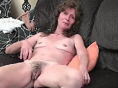 Granny, Milf, Mature, Hairy mature, Saggy, Hairy