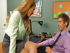 Büroschlampen, Büro masturbieren, Masturbation strümpfe