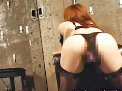 Japanese, Asian japanese masturbation, Japanese girl masturbation, Asian stockings, Japan toy, Red stocking