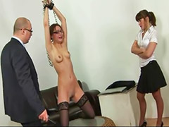 Threesome, Secretary, Spank