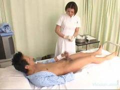 Paciente hospitalar, Esfregar, Esfregando