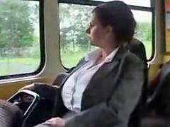 Tram, Trams, Trammed, Milf boobs, Milf boob, Milf big boob