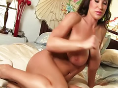 Big ass, Masturbation, Milf, Big tits, Shaving, Lisa ann