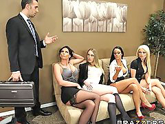 Big boobs, Office, Boss, Big boss