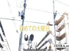 Japanese schoolgirl, Schoolgirl, Subtitle
