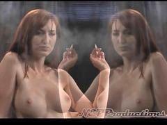 Smoking fumar fumadora, Fumando um