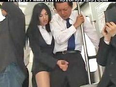 Bus, Handjob asian, Asian handjob, Asian cumshot, Handjob cumshot, Bus handjob