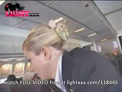 Public, Masturbation, Stewardess