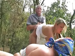 Threesome outdoor, Threesome old young, Masturbate young, Fat masturbating, Old fat, Young oral