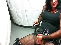 Crossdresser, Boots, Crossdress, Jeans, Crossdressing, Big black asses