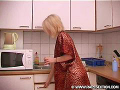 Blond, Kitchen, Babe, Blonde