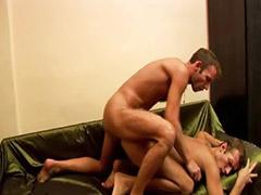 野外性交, 奶油,肛门, 吸肛, 吸奶和做爱, 白人男同志, 亚洲 同性恋