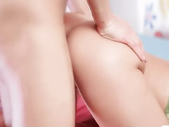 Jizz, Small tits, Teen sex, Small, Small girl, Cum on ass
