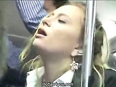 Bus, Public, Cute, Fingering