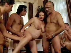 Gangbang, Pregnant, Daughter