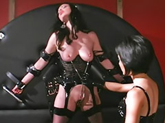 Latex, Asian, Spanking