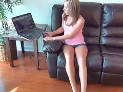 Brother, Caught, Watching porn, Sister, Step sister, Step