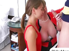 Stepmom, Big tit mom, Big mature, Step-mom, Milf threesome, Mature big