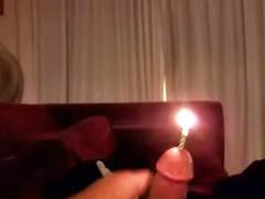 Kerzen, Fetisch amateur, Schwule amateure, Homosexuell fetisch