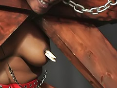 Interracial, Bondage, Heels, Moans, Interracial asia, Asian threesomes