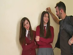 Teens school, Teen school, Teen linda, School threesome, School teens, School teen