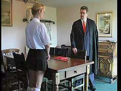 School girl, Spanking, Spank, Spanked, School, Girl