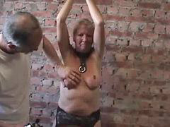 Breast punished