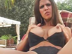 Boob fuck, Titfuck, Masturbation outdoor, Masturbate outdoor, Titfuck cum, Titfucks