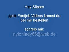 Feet, Heels, Nylon feet, Nylon, German mature, Compilation