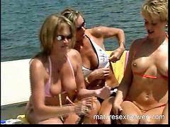 Yacht, Yachting, Threes, Three