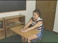 Anal, Teacher, Schoolgirl, Strap on, Punishment, Strap