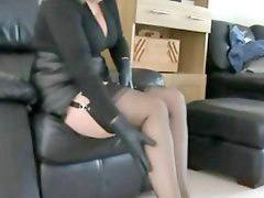 Leather, Handjob