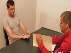 Obciąganie kutasa gay, Fucking oficer