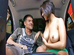 Car, Vanessa, Car fucking, Vanessa leon, Pleasures, Need