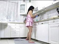 Pregnant, Kitchen