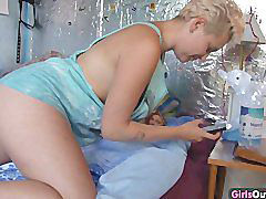 Haarige amateure, Blonde behaart