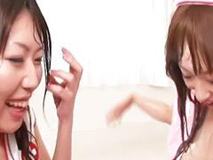 Jap lesbians, Japon anal