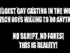 Gay, Anal casting, Czech anal, Czech, Anal, Czech casting