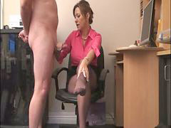 Mistress, Milking, Milk, Office