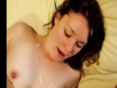 Huge tits, Huge sex, Webcam blowjob, Webcam tits, Cum on tits, Webcam couple
