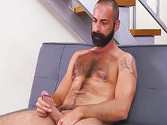 Owłosione ,masturbacja
