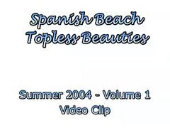 Spanish, Beach, Topless, Spani, Topless beach, Panis