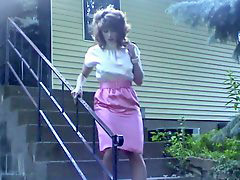 Satin, Pink satin, Satine, U dress, White dress, Dressed
