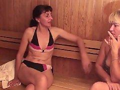 Signora lesbica, Lesbiche in sauna, Lesbica