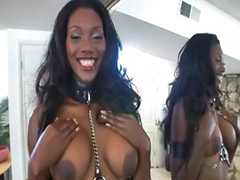 Big ass, Black, Big tits, Big cock, Ass licking