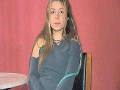 Emili b, В обтягивающем, Апельсин, В колготках, В колготах