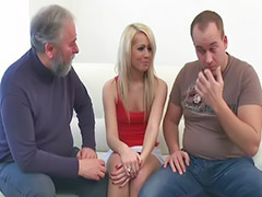 Chubby threesome, Unbelieve, Unbelievable, Unbeliev, Threesome stocking, Threesome love